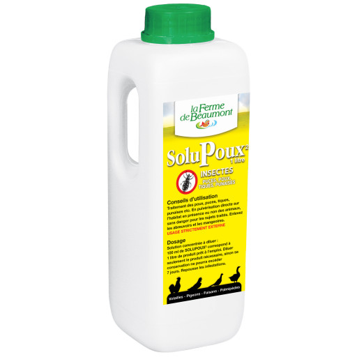 SoluPoux - insecticide naturel