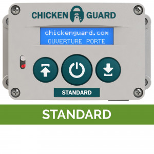 Portier automatique Standard ChickenGuard poulailler