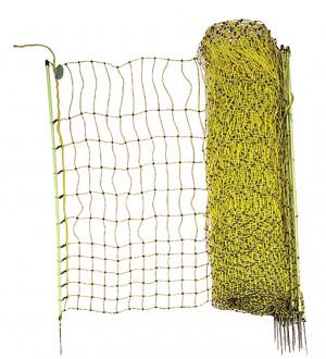 Filet électrifiable, 50 m x 1,12 m, pour volaille