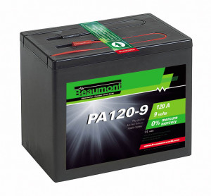 Pile alcaline 9V/120A, PA120-9