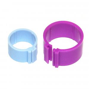 Bague à clip en plastique