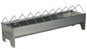 Mangeoire linéaire métal 50 cm